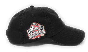 "FUBU ""FB"" Logo 25th Anniversary Dad Black Snapback Hat"