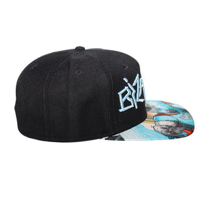 Bioworld Licensed Bizarro - Forever Evil Sublimated Brim Snapback Hat