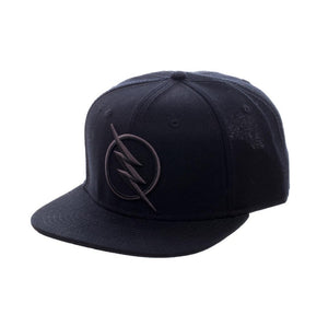 Bioworld Licensed Flash Zoom Black Snapback Hat