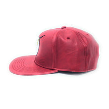 Load image into Gallery viewer, Bioworld Licensed The Flash Logo Embroidery PU Leather Red Snapback Hat
