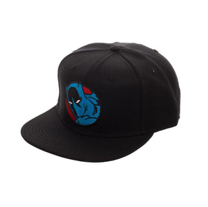 Bioworld Licensed Black Panther Core Line Logo Black/Blue Snapback Hat