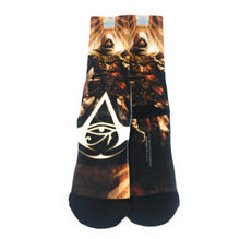 Load image into Gallery viewer, Bioworld Licensed Assassin's Creed - Origins - Black - Sublimated Socks - One Size