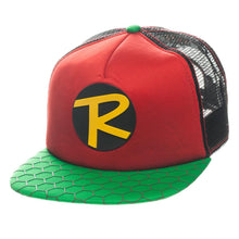 Load image into Gallery viewer, Bioworld Licensed Robin - Trucker Snapback Hat
