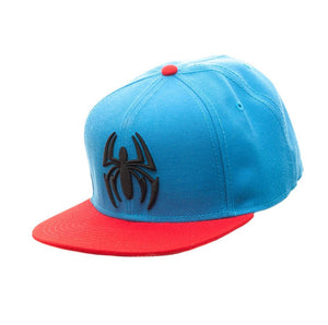 Bioworld Licensed Spider-Man Scarlet Spider Red/Blue Snapback Hat