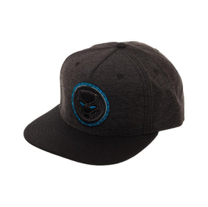 Bioworld Licensed Black Panther - Movie - Logo Black/Blue Snapback Hat
