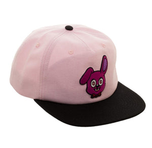 Bioworld Licensed Five Nights At Freddy's - Bonny - Oxford Slouch Pink/Black Snapback Hat