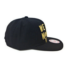 Load image into Gallery viewer, Mitchell and Ness Toronto Raptors We The North - 2019 Champions - Black/Gold Snapback Hat
