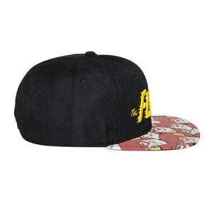 Bioworld Licensed The Flash Logo Sublimated Brim Snapback Hat