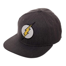 Load image into Gallery viewer, Bioworld Licensed The Flash Logo Grey Flex Fit Hat