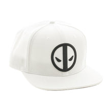 Load image into Gallery viewer, Bioworld Licensed Deadpool - Marvel Comics - White Snapback Hat