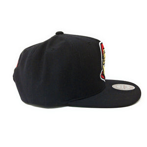 Mitchell and Ness Ottawa Senators - Logo Black Snapback Hat