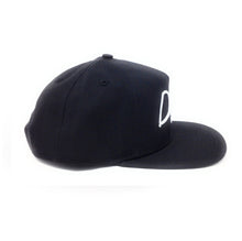 Load image into Gallery viewer, Dope Script Logo Black Snapback Hat