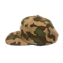 Load image into Gallery viewer, Crooks & Castles 3D Rubber Beveled Chain C Camouflage Snapback Hat