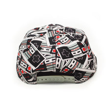 Load image into Gallery viewer, Bioworld Licensed Nintendo - Controller All Over Print Snapback Hat