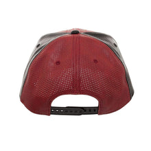 Load image into Gallery viewer, Bioworld Licensed Deadpool Suit Up PU Leather Ballistic Red/Black Snapback Hat