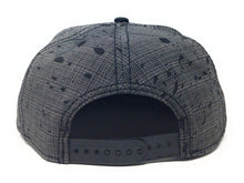 Load image into Gallery viewer, Bioworld Licensed Punisher - Marvel Knights - Splatter Black/Grey Snapback Hat