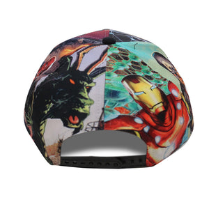 Bioworld Licensed Multiple Marvel Characters VS Snapback Hat