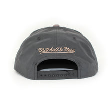 Load image into Gallery viewer, Mitchell And Ness Montreal Impact Buttery Melange Grey Snapback Hat