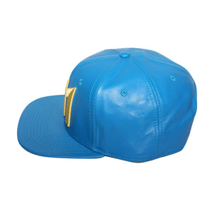 "Bioworld Blue Licensed Fallout ""111"" PU Leather Snapback Hat"