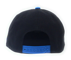 Sonic The Hedgehog - Brush Strokes On Washed Canvas Blue/Black Snapback