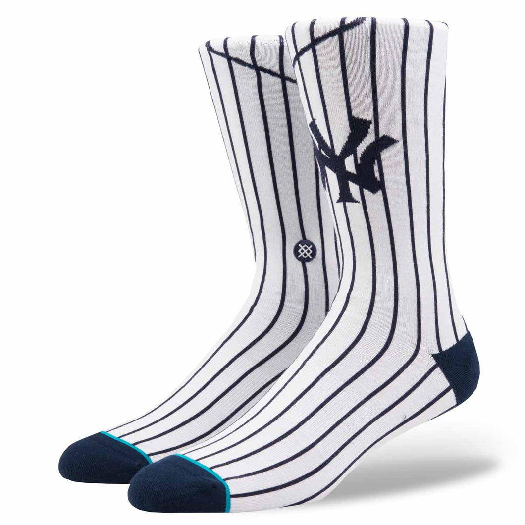 Stance New York Yankees Home White Socks
