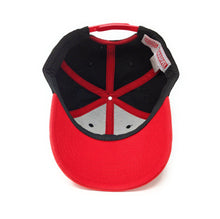 Load image into Gallery viewer, Deadpool Logo - Flat Embroidery - Red/Black Dad Cap Snapback Hat