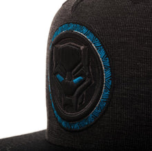 Load image into Gallery viewer, Bioworld Licensed Black Panther - Movie - Logo Black/Blue Snapback Hat
