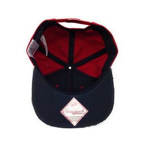 Bioworld Flash Sublimated Brim Red/White Snapback Hat