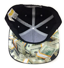 Load image into Gallery viewer, Wu-Tang - Logo - C.R.E.A.M. - Yellow/Black Snapback