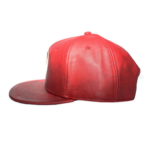 Bioworld Licensed DC COMICS - Flash Metal Bolt PU Leather Snapback Hat