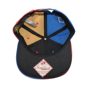 Bioworld Licensed Harley Quinn - Diamond Suit PU Leather Appliqué Snapback Hat