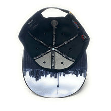 Load image into Gallery viewer, 6 Visions - The Cap Guys TCG / Inspired Exclusives PU Black/White Strapback Cap