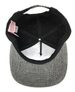 Spiderman - Metallic Sonic Weld Logo - Grey/Black Snapback