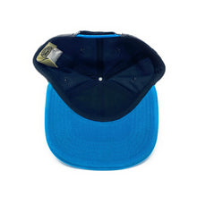 Load image into Gallery viewer, NIghtwing - Molded Metal Logo PU Crown - Blue/Black - Snapback Cap