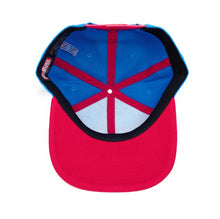 Load image into Gallery viewer, Bioworld Licensed Spider-Man Scarlet Spider Red/Blue Snapback Hat
