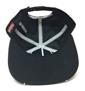 Bioworld Licensed Punisher - Marvel Knights - Chrome Weld Ballistic Black/White Snapback Hat