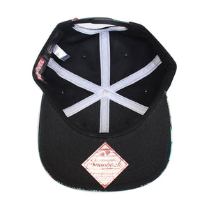 Bioworld Licensed Crossbones - Sublimated Brim Snapback Hat