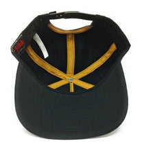 Load image into Gallery viewer, Bioworld Licensed The Legend Of Zelda - Link - Rubber Sonic Weld - Gold/Black Snapback Hat