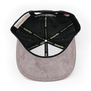 Mitchell And Ness Montreal Impact Buttery Melange Grey Snapback Hat