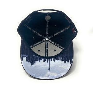6 Visions - The Cap Guys TCG / Inspired Exclusives Black/White Snapback Cap