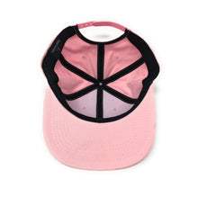 Load image into Gallery viewer, Trap Lord Worldwide Crest Logo Pink Snapback Hat