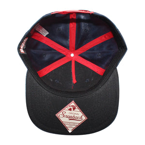 Bioworld Blue Licensed Captain America Shield Logo Snapback Hat