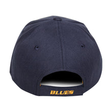 Load image into Gallery viewer, Old Time Hockey Blue St. Louis Blues Raised Replica 3 Velcro Cap
