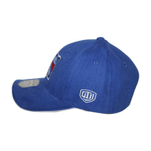 Load image into Gallery viewer, Old Time Hockey Blue New York Rangers Raised Replica 3 Velcro Cap