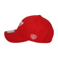 Load image into Gallery viewer, Old Time Hockey Red Detroit Red Wings Raised Replica 3 Velcro Cap