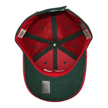 Load image into Gallery viewer, Old Time Hockey Green Minnesota Wild Raised Replica 3 Velcro Cap