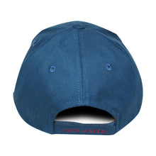 Load image into Gallery viewer, Old Time Hockey Blue Colorado Avalanche Raised Replica 3 Velcro Cap