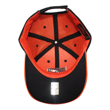 Load image into Gallery viewer, Old Time Hockey Black Philadelphia Flyers Raised Replica 3 Velcro Cap