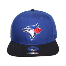 Load image into Gallery viewer, 47 Brand Toronto Blue Jays Sure Shot Two Tone '47 Captain Blue/Black Snapback Cap