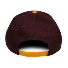 Load image into Gallery viewer, 47 Brand Cleveland Cavaliers Sure Shot Two Tone 47 Captain Dark Maroon/Yellow Cap